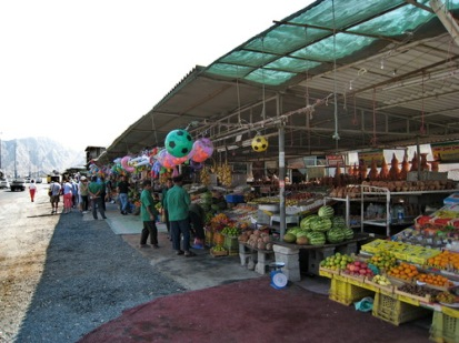 Fruits and vegetable market