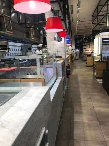 Live Food Counter