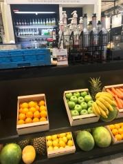 Fresh Fruit Juice Counter