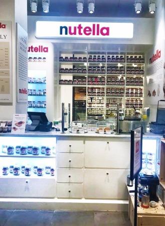 Nutella Counter
