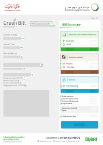 green bill- DEWA
