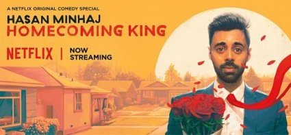hasan minhaj homecoming king key art